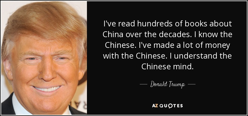 donald trump china quote