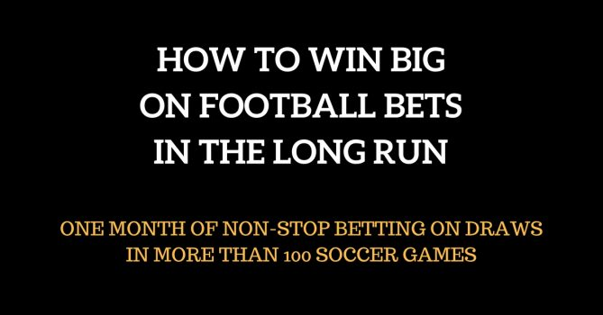 best soccer betting system for big profits