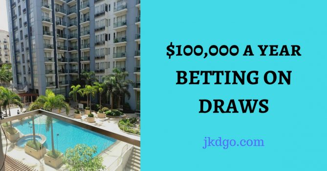 get rich betting draws