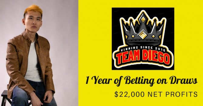 increasing stake betting system (team diego a year of betting on draws)